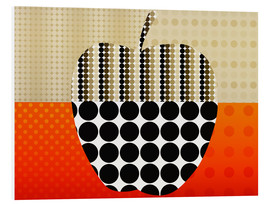 Foam board print  apple impression - Rosalina Nikolova