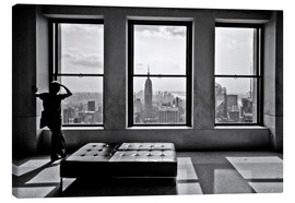 Canvas print  New York, Top of the Rock - Thomas Splietker