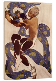 Wood print  Afternoon of a Faun - Leon Nikolajewitsch Bakst