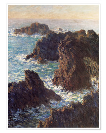 Premium poster  The Rocks of Belle-Ile - Claude Monet