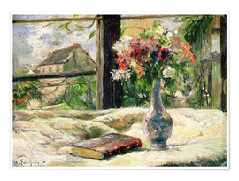 Premium poster  Vase of Flowers - Paul Gauguin