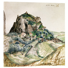Acrylic print  View of the Arco Valley in the Tyrol - Albrecht Dürer