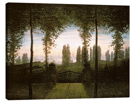 Canvas print  Remembrance of Johann Bremen - Caspar David Friedrich