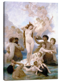 Canvas print  Birth of Venus - William Adolphe Bouguereau