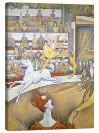 Canvas print  Le Cirque - Georges Seurat
