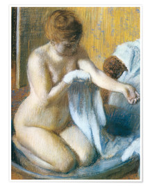 Premium poster Woman in a Tub
