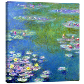 Canvas print  Nymphéas - Claude Monet