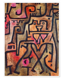 Premium poster  Forest witches - Paul Klee