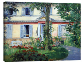 Canvas print  Country house in Rueil - Edouard Manet