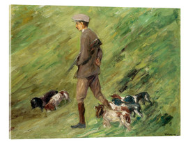 Acrylic print  Hunter in the Dunes - Max Liebermann