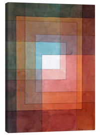 Canvas print  White framed polyphonically - Paul Klee