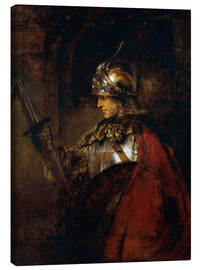 Canvas print  Alexander the Great - Rembrandt van Rijn