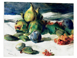 Foam board print  Fruit still life - Pierre-Auguste Renoir