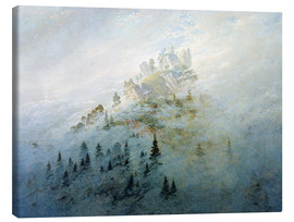 Canvas print  Morning mist in mountains - Caspar David Friedrich