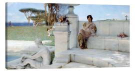 Canvas print  The Voice of Spring. - Lawrence Alma-Tadema