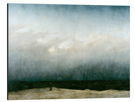 Aluminium print  Monk by the Sea - Caspar David Friedrich
