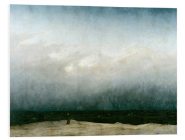 Foam board print  Monk by the Sea - Caspar David Friedrich