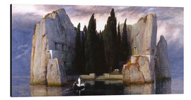 Aluminium print  Island of the Dead - Arnold Böcklin
