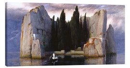 Canvas print  Island of the Dead - Arnold Böcklin