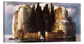 Canvas print  The Isle of the Dead - Arnold Böcklin