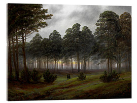 Acrylic print  Evening - Caspar David Friedrich