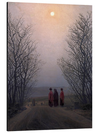 Aluminium print  Easter morning - Caspar David Friedrich