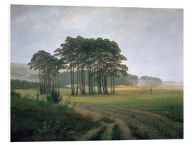 Foam board print  The Midday - Caspar David Friedrich