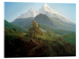 Acrylic print  The Watzmann - Caspar David Friedrich
