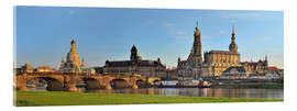 Acrylic print  Dresden Canaletto view - FineArt Panorama