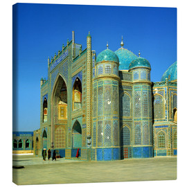 Canvas print  Ali mausoleum in Masar-e-Sharif - Ric Ergenbright