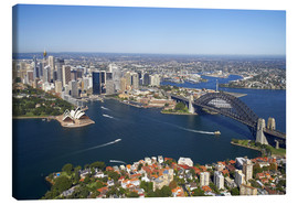 Canvas print  Sydney skyline - David Wall