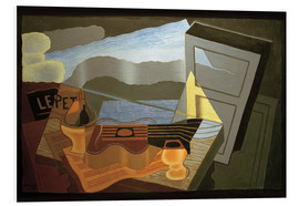 Foam board print  View of the Bay - Juan Gris