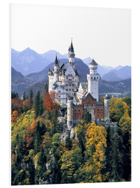 Foam board print  Neuschwanstein Castle - Ric Ergenbright