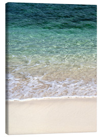 Canvas print  Beach and blue ocean - Maresa Pryor