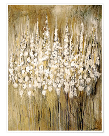 Premium poster  flower abstract - Christin Lamade