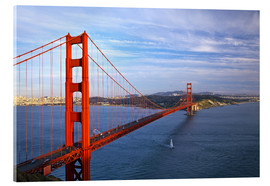 Acrylic print  Golden Gate Bridge - Chuck Haney
