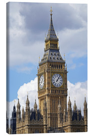 Canvas print  Big Ben and Westminster Palace - David Wall