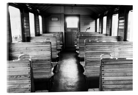 Acrylic print  Old train compartment - Falko Follert