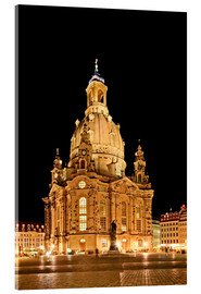 Acrylic print  Frauenkirche - Wolfgang Dufner