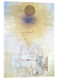 Acrylic print  Bounds of the intellect - Paul Klee