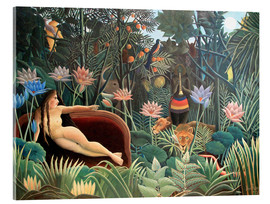 Acrylic print  The dream - Henri Rousseau