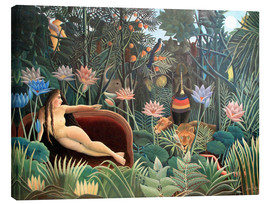 Canvas print  The dream - Henri Rousseau