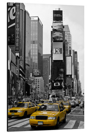 Aluminium print  NEW YORK CITY Times Square - Melanie Viola