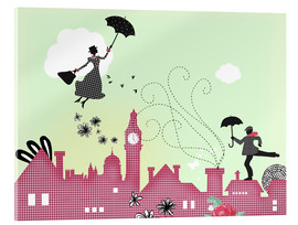 Acrylic print  Mary Poppins, London - Elisandra Sevenstar