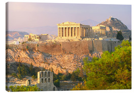 Canvas print  Akropolis, Athens, Greece - Jan Schuler