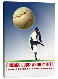 Canvas print  chicago cubs 1950 - Sporting Frames