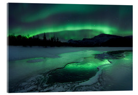 Acrylic print  Northern Lights, Norway - Arild Heitmann