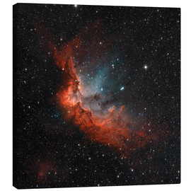 Canvas print  NGC 7380 in true colors. - Rolf Geissinger