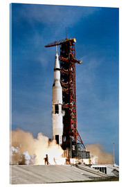 Acrylic print  Apollo 11 taking off from Kennedy Space Center