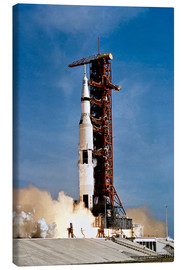 Canvas print  Apollo 11 taking off from Kennedy Space Center
